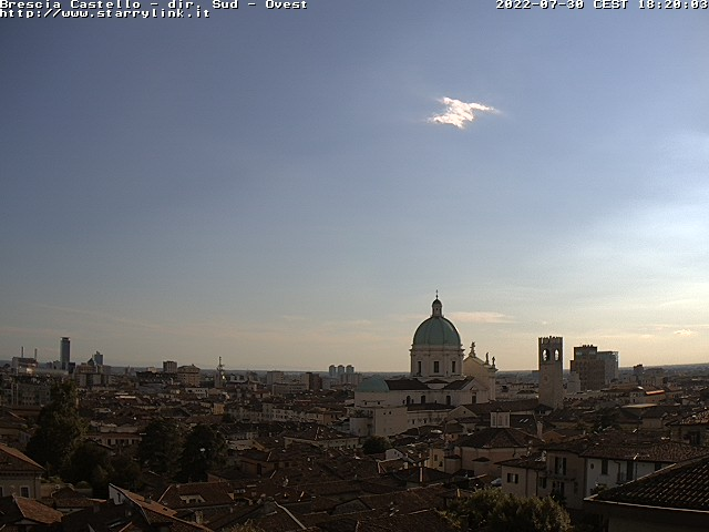 webcam brescia castello