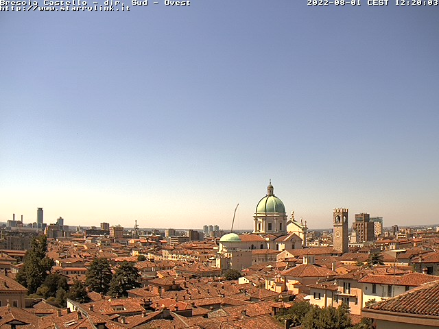 Webcam Lombardia Brescia Castello