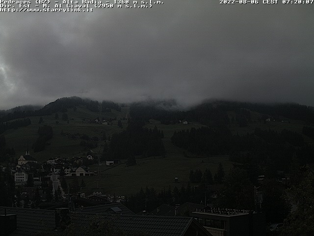 Webcam en Pedraces, Alta Badia (Alpes Italianos)